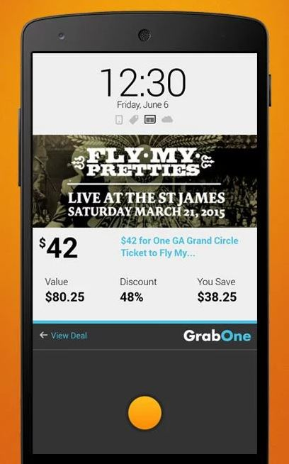 GrabOne Unlocks E-commerce Potential of Lock Screen with Postr