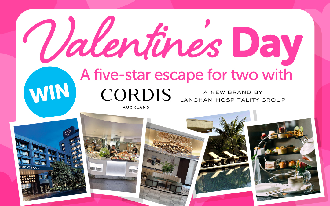 Win a five-star escape with Cordis, Auckland!